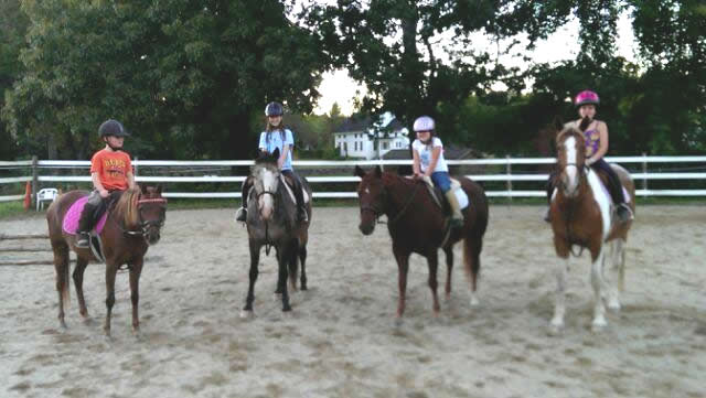 horseback riding lessons in Holden, MA
