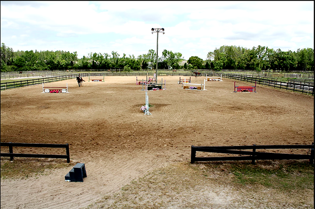 Turning Leaf Farm offers great amenities for riders and horses